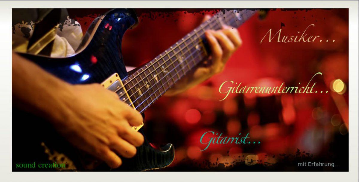 Gitarren und Bassunterricht Michael Wondra