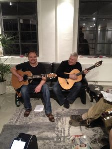 Michael Wondra Session in Heidelberg